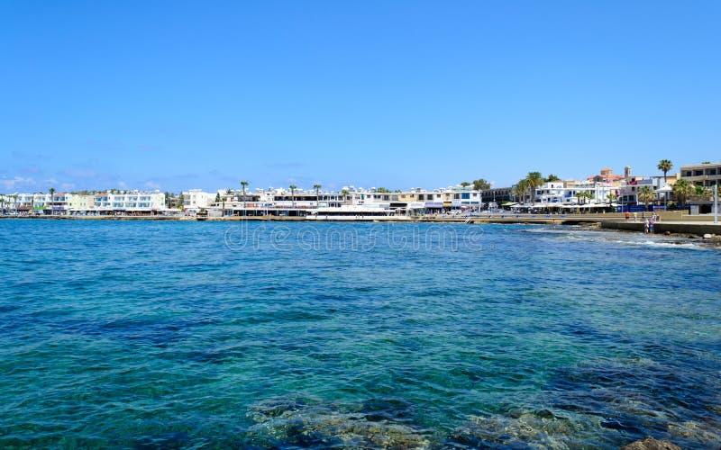 Chipre 2011 Bahía de Paphos imágenes de archivo libres de regalías