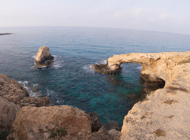 chipre Rocas Seaview foto de archivo libre de regalías