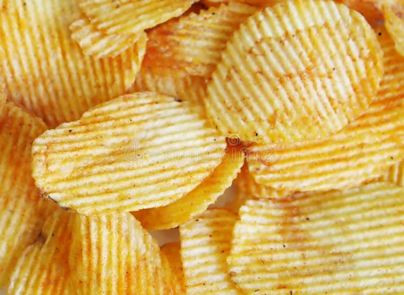 Chips stockfotos
