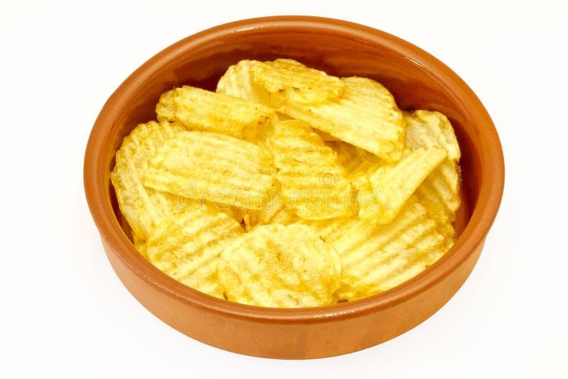 Chips stockbilder