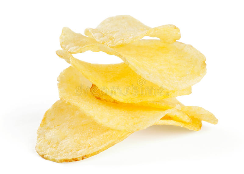 Download Chips stock photo. Image of macro, salty, salt, fried - 26226612