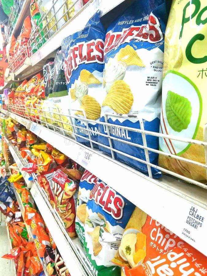 chips obraz royalty free