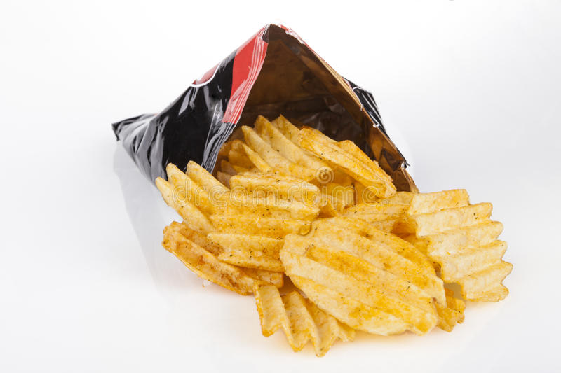 Chips Bag immagine stock