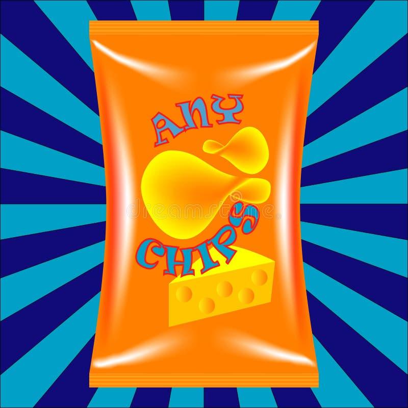 Chips Bag fotografia de stock royalty free