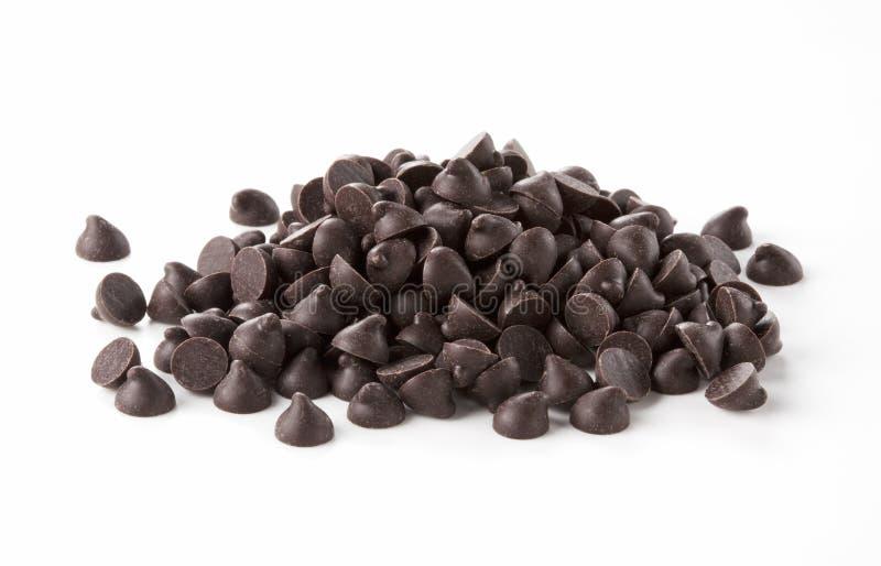 chips choklad arkivfoto
