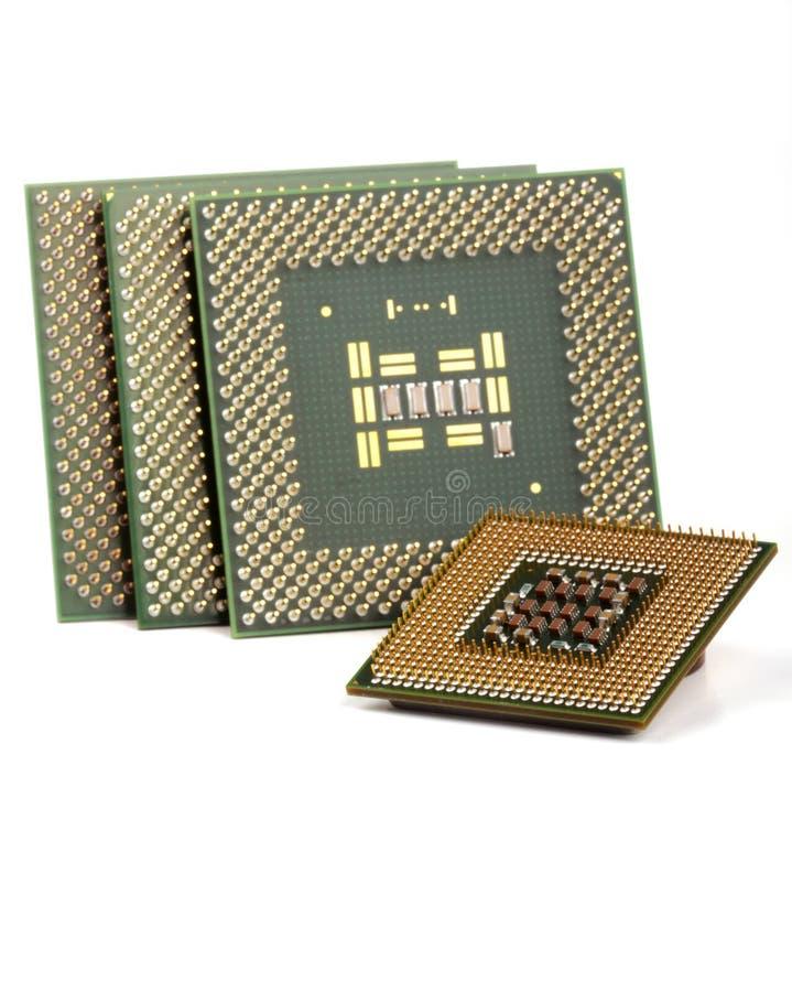 chips datoren royaltyfri fotografi