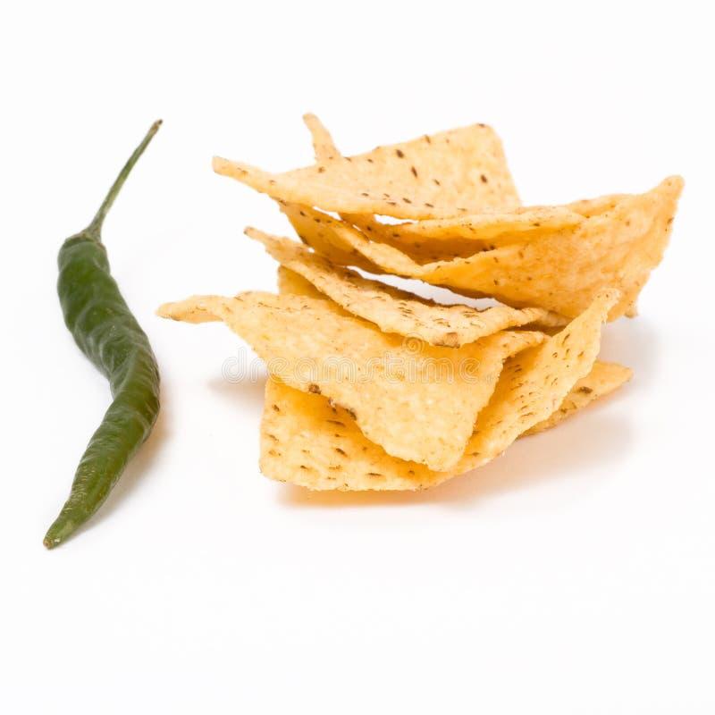 Chips des Paprika-N stockfotos