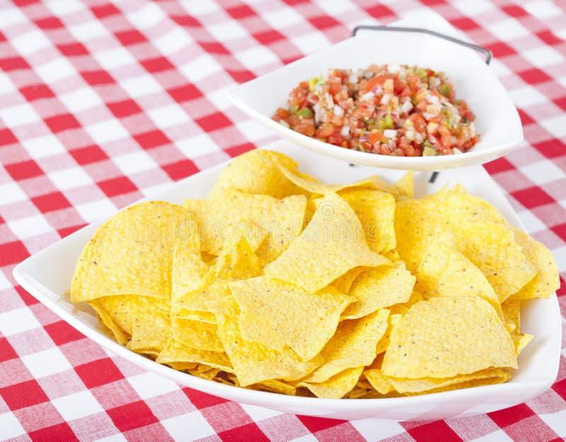 Chips and Pico De Gallo Salsa