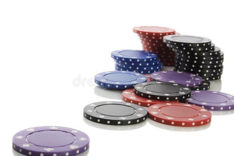 chips poker στοκ εικόνα