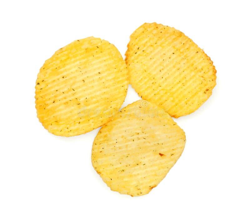 chips potatisen arkivbilder