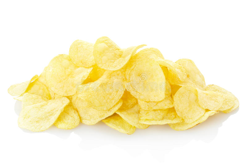 chips potatisen royaltyfri bild