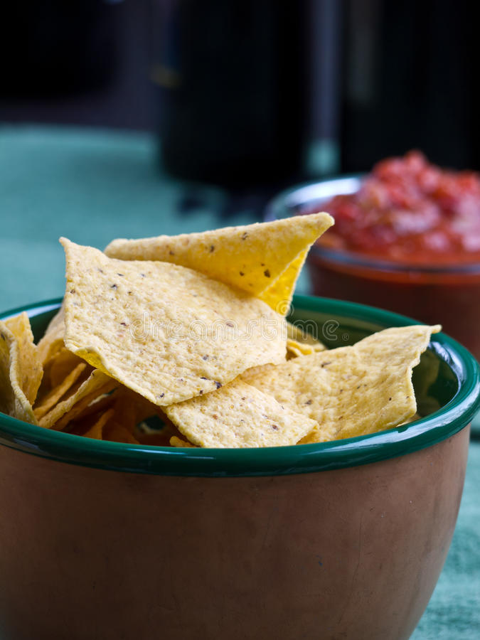 Download Chips And Salsa Snack Stock Photos - Image: 23049013