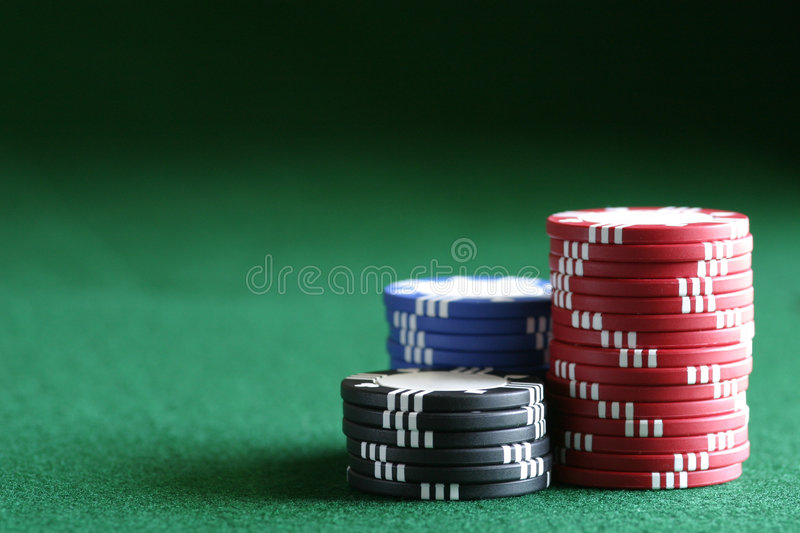 The Chips Are Stacked Against You stock photography