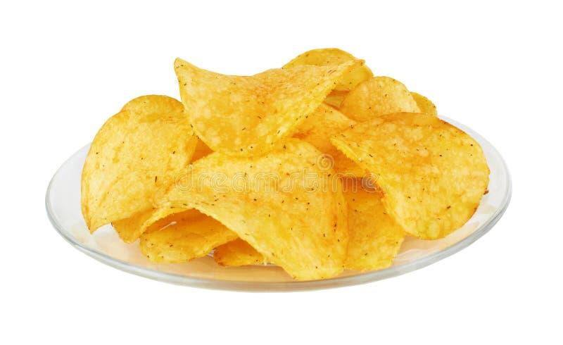 chipsy kartoflani obraz royalty free