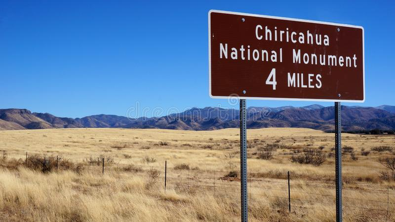 Chiricahua National Monument, Arizona, United States stock images