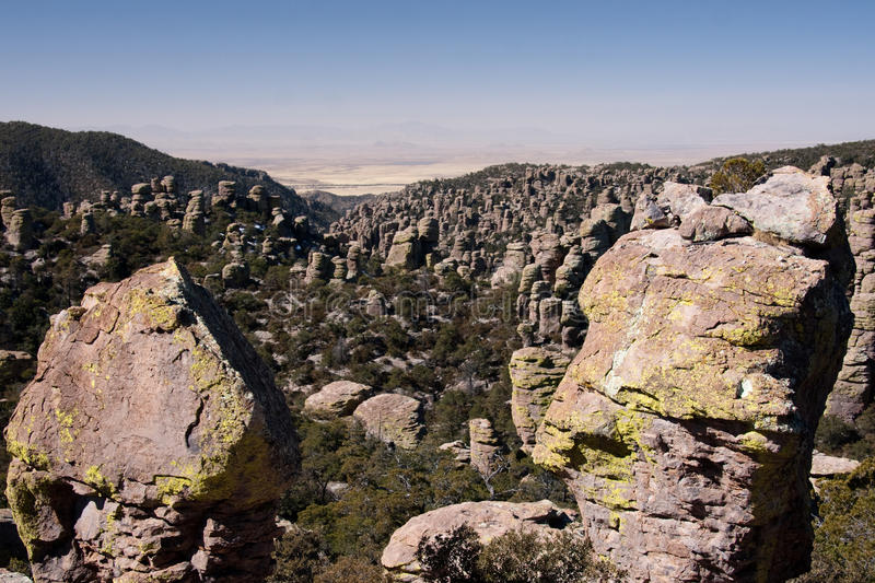 Chirikahua国家公园在美国 免版税库存图片