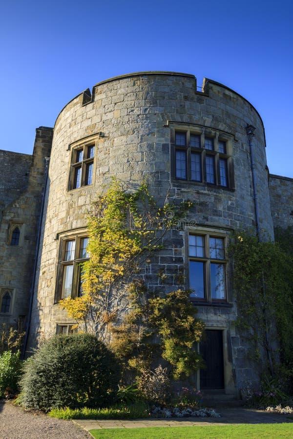 Chirk el castillo imagen de archivo