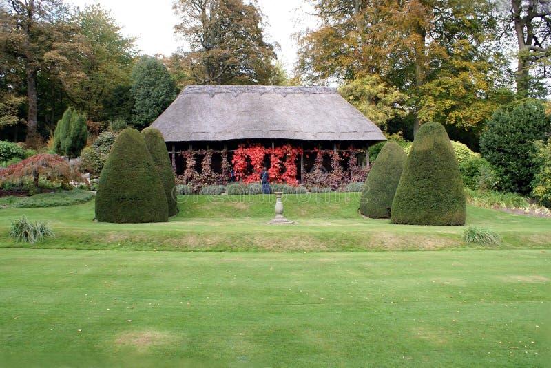 Chirk o jardim do castelo, Gales, Inglaterra imagens de stock royalty free