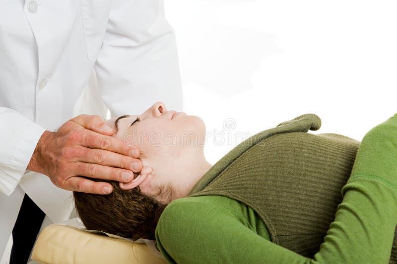 chiropractic προσοχής ευγενές στοκ φωτογραφίες
