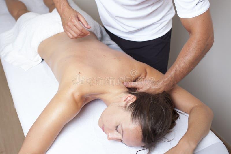 Chiropractic προσοχή στοκ φωτογραφίες