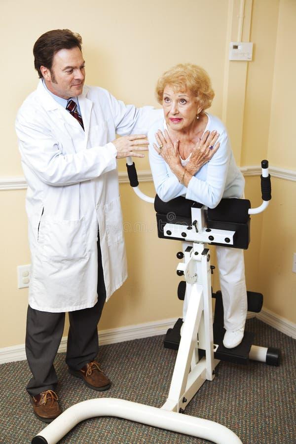 chiropractic φυσική θεραπεία στοκ φωτογραφία με δικαίωμα ελεύθερης χρήσης