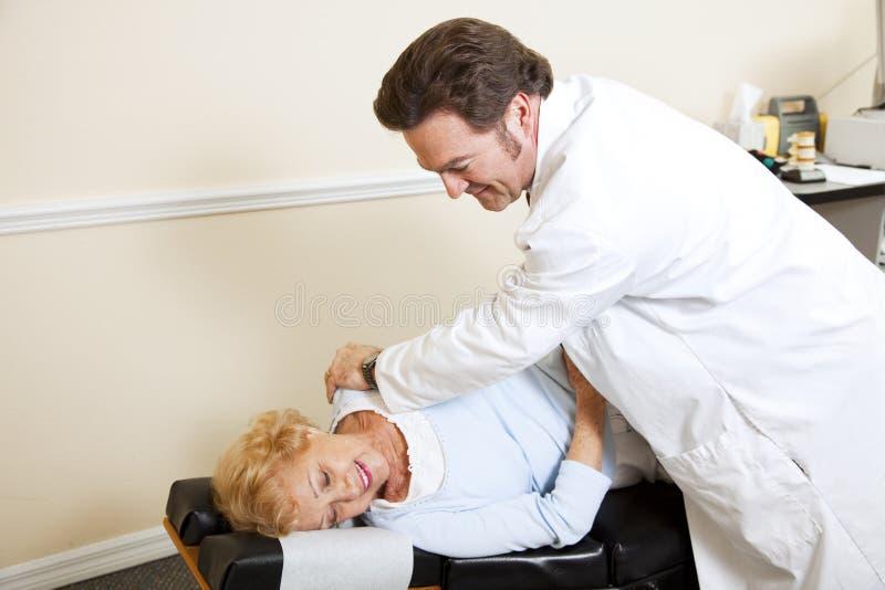 chiropractic copyspace zdjęcie stock