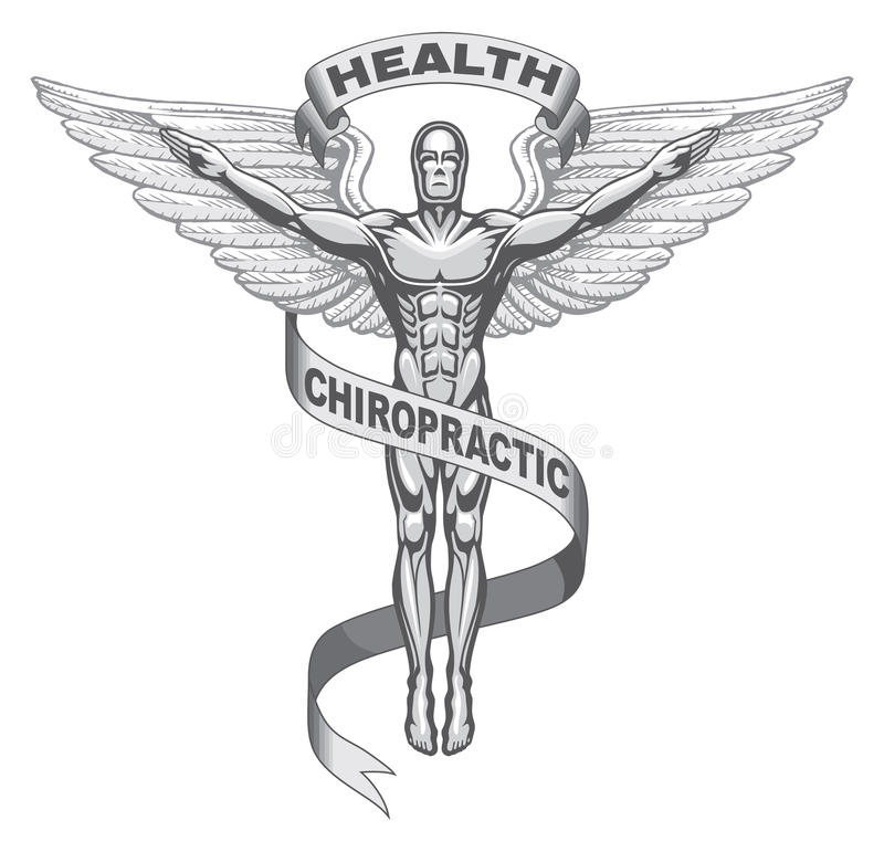 Chiropractic Symbol vector illustration