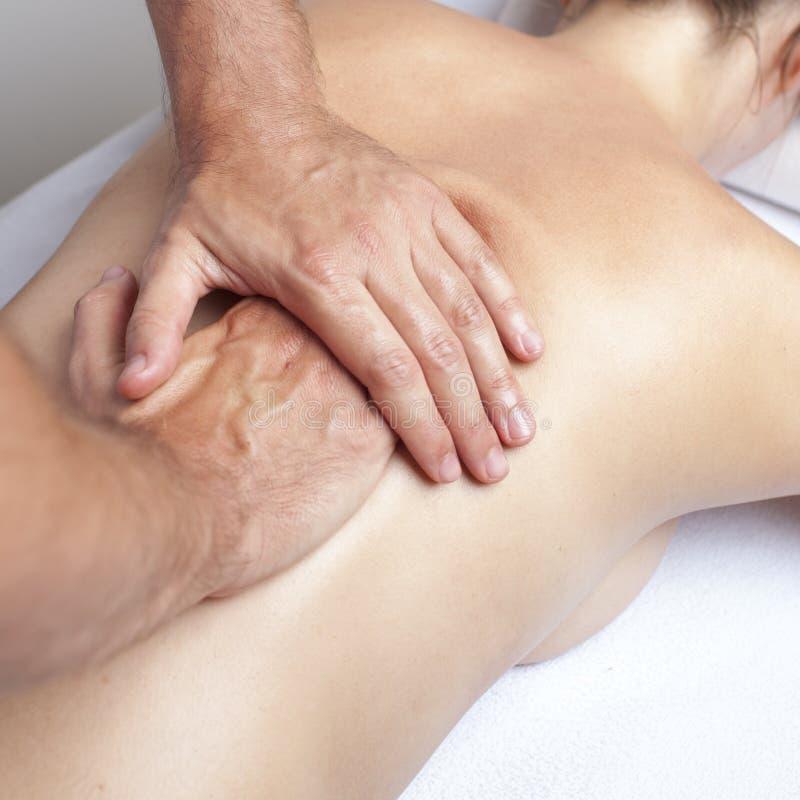 Chiropracticomsorg royaltyfria bilder