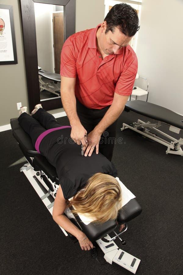 Chiropractor foto de stock royalty free