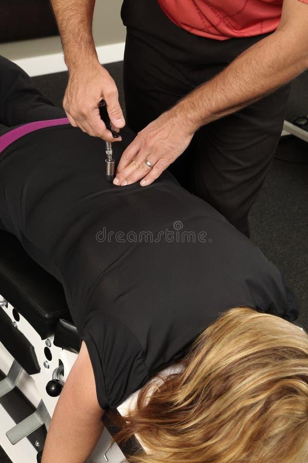 Chiropractor imagem de stock royalty free