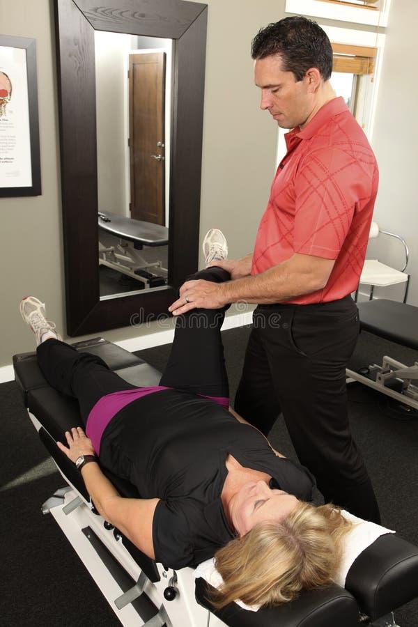 Chiropractor foto de stock