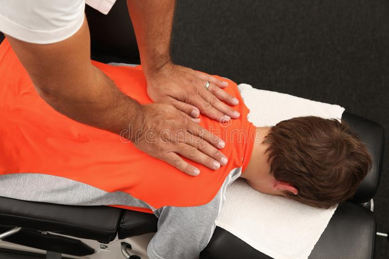 chiropractor στοκ φωτογραφία