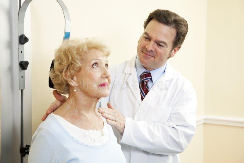 Download Chiropractor Treats Whiplash Stock Image - Image: 14188421