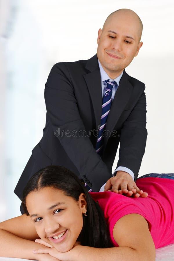 chiroprakteur photo stock