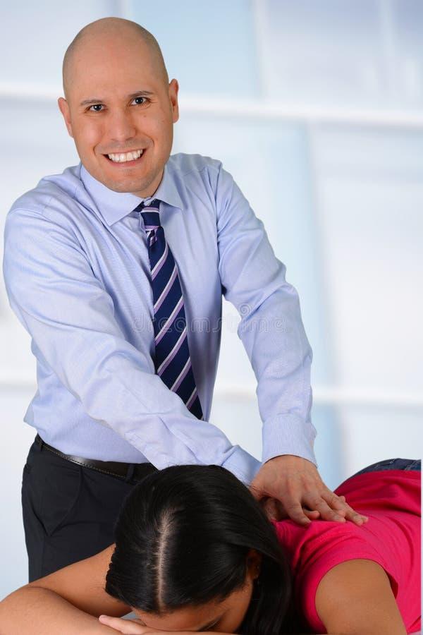 chiroprakteur photographie stock