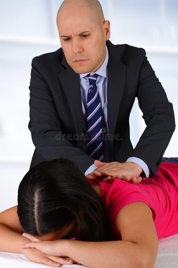 chiroprakteur image libre de droits