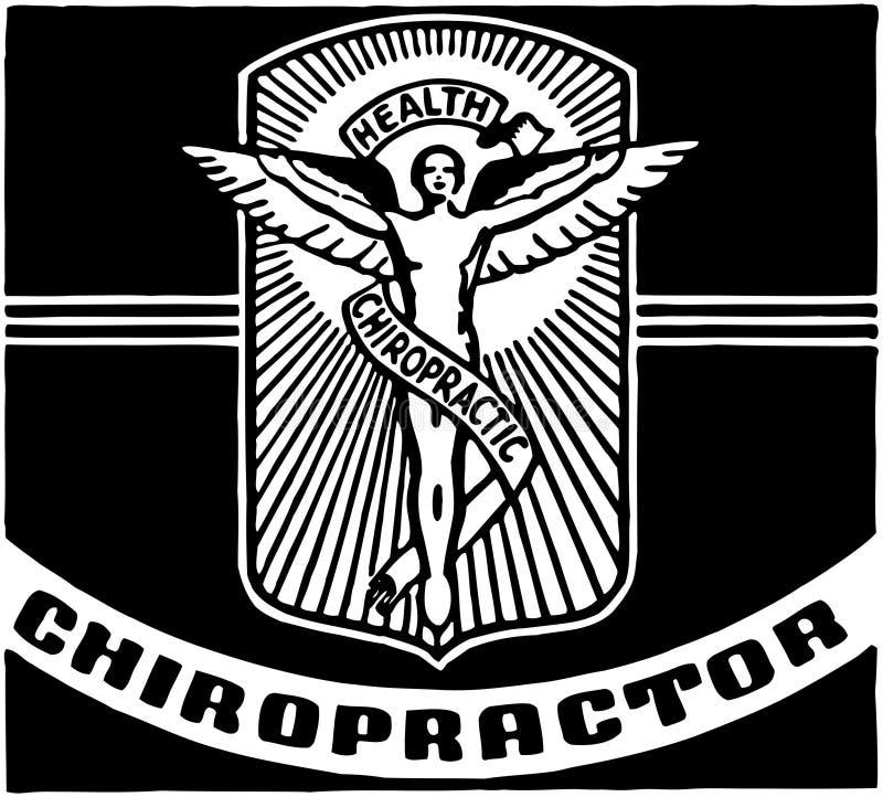 chiroprakteur illustration de vecteur