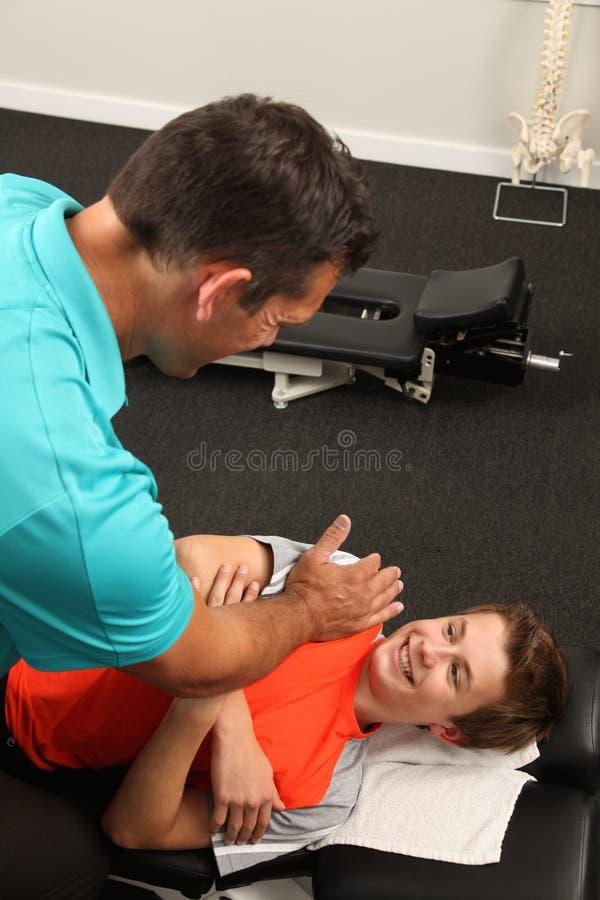 chiropraktor stockbild