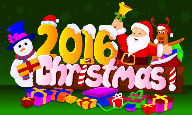 2016 chirstmas royalty free stock images