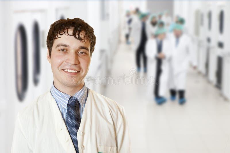 Chirurg royalty-vrije stock afbeelding