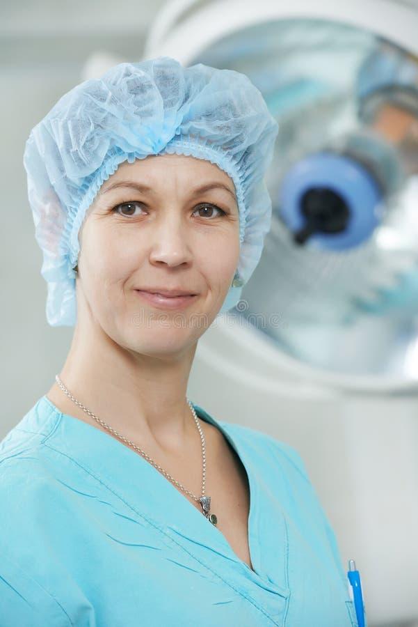 Chirurg artsenportret royalty-vrije stock fotografie