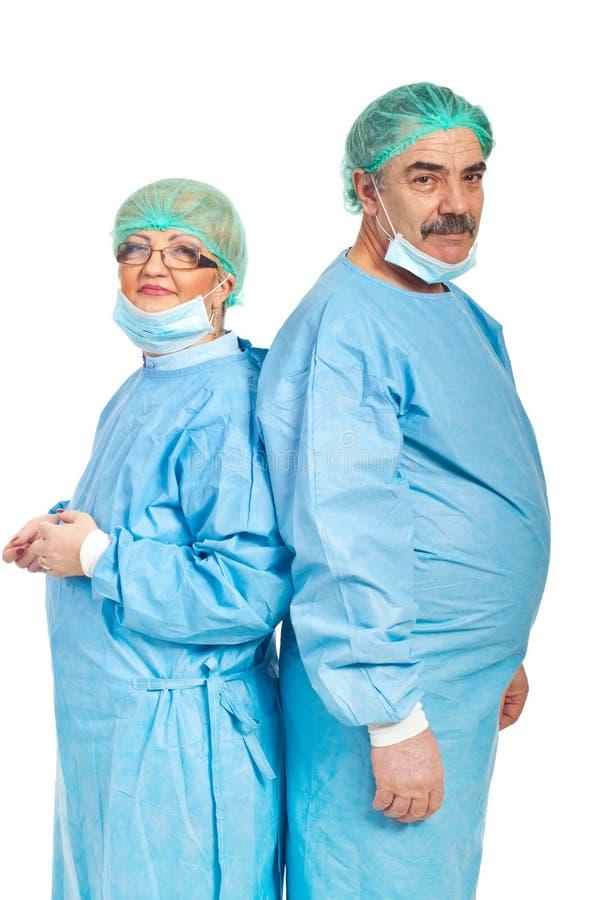chirurg dojrzała drużyna zdjęcia royalty free