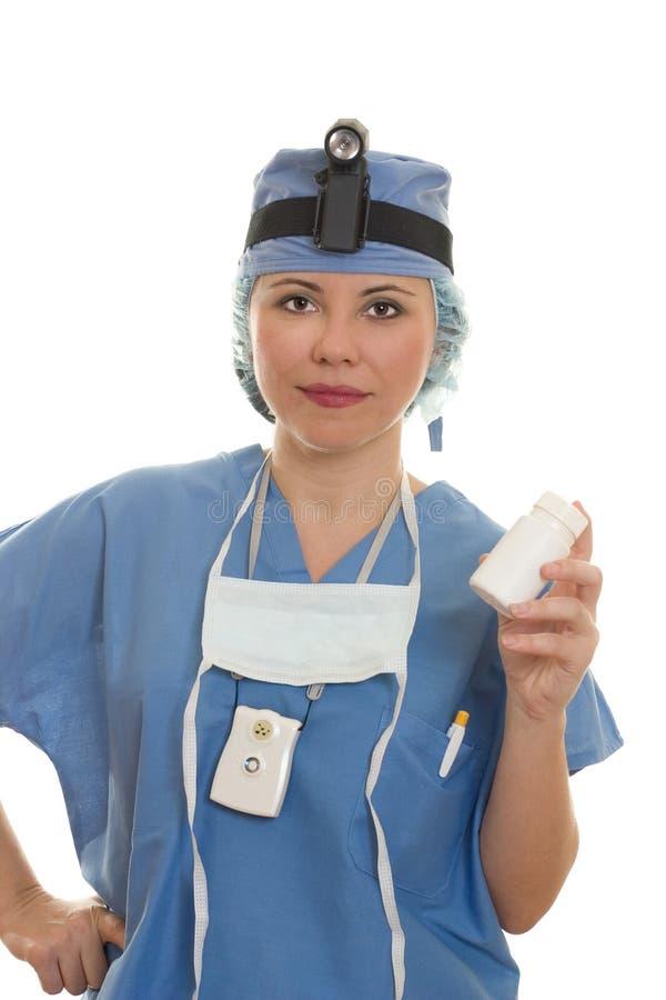 Chirurg empfiehlt sich stockbilder