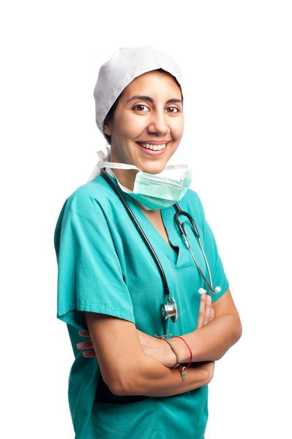 Chirurga portret zdjęcia stock