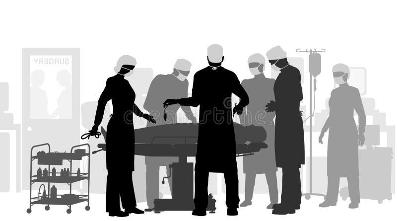 Chirurgia royalty illustrazione gratis