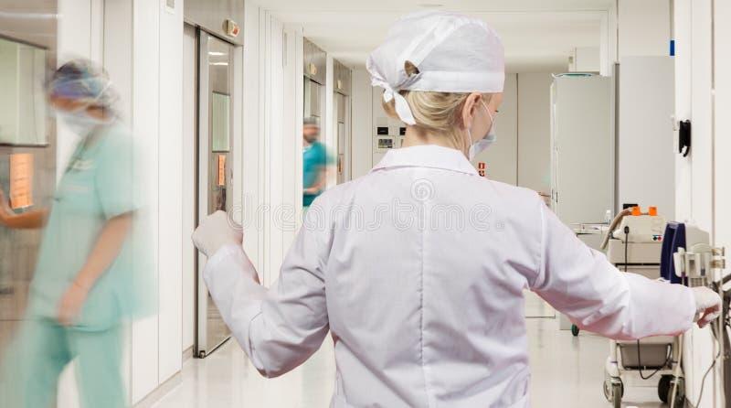 Chirurgie van de het ziekenhuis de Steriele Gang stock foto