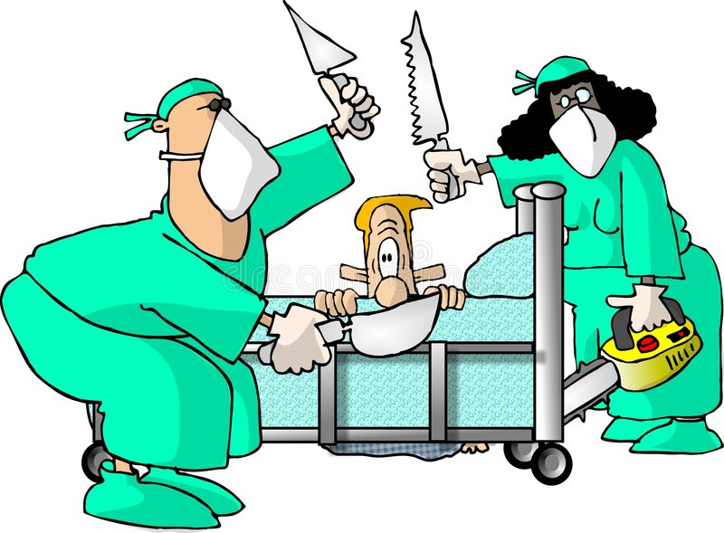 Chirurgien illustration stock