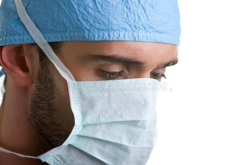 Chirurgien au travail photo libre de droits