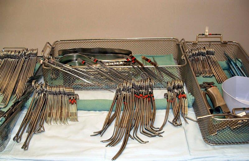 Chirurgische instrumenten royalty-vrije stock afbeeldingen