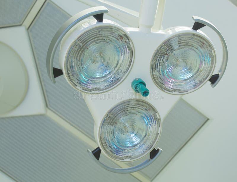 Chirurgische Lichter stockfoto